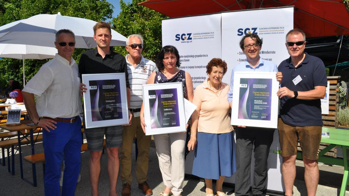 Conditus prejel častno priznanje SGZ