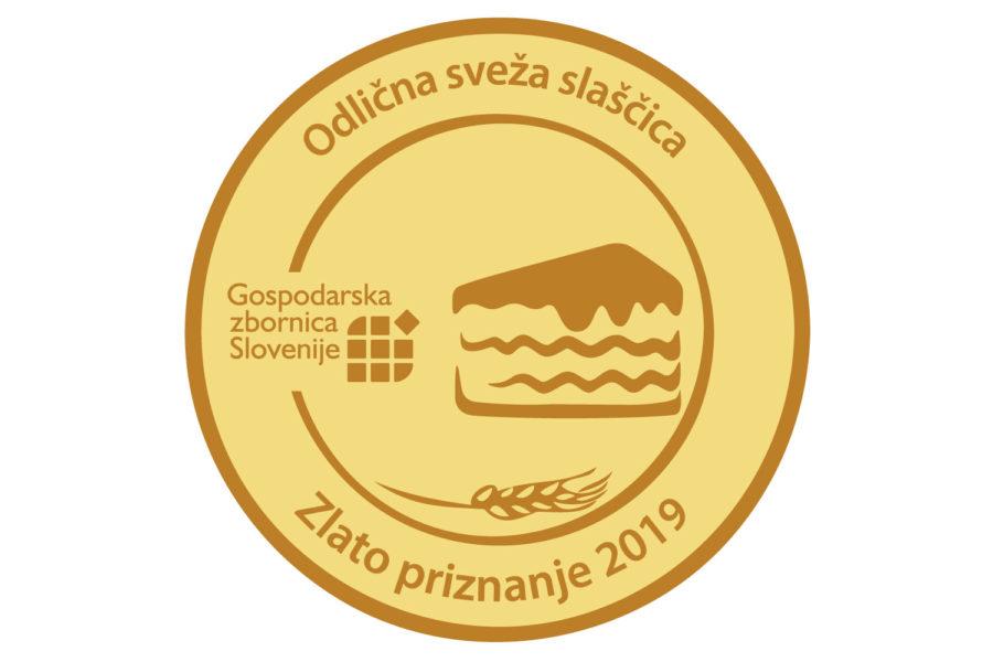 Conditusova Blejska kremšnita nagrajena z zlatim priznanjem za odlično svežo sladico