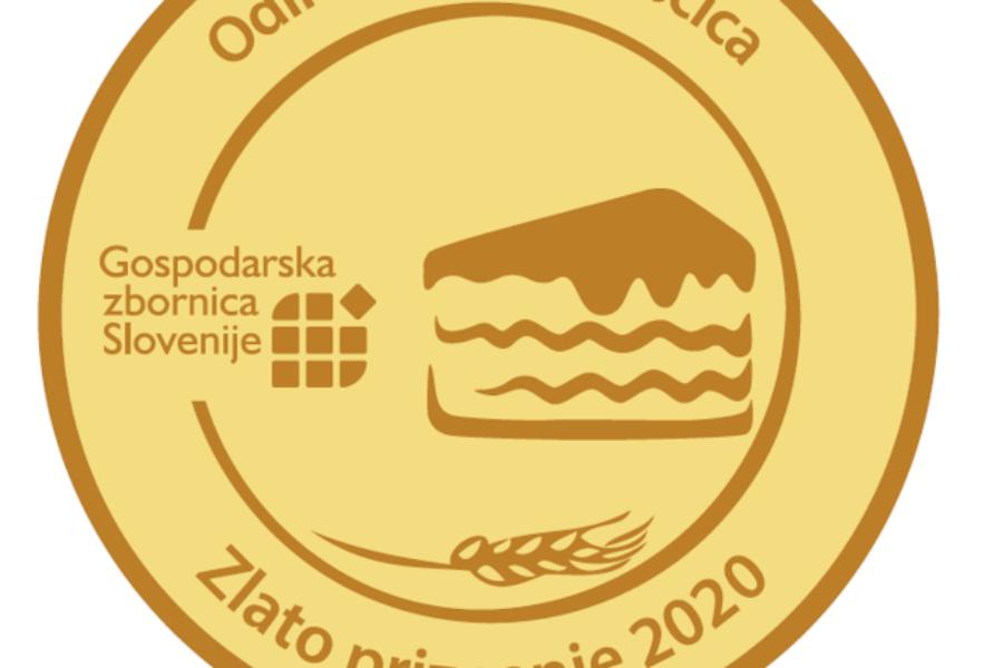 Conditusovi Blejska kremšnita in Šamrola nagrajeni z zlatima priznanjema za odlični sveži sladici